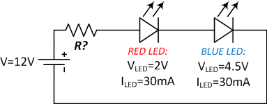 Led Resistor Diagram