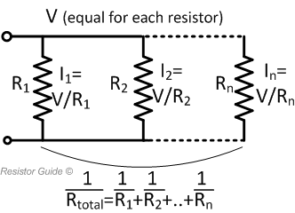 resistors in parallel equivalent resistance